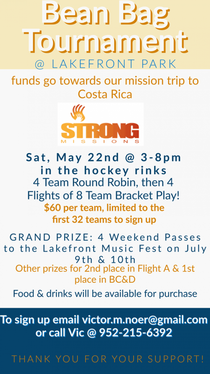 Strong Missions Bags Tourney 5-22-21