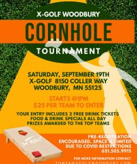 X-GOLF Woodbury Cornhole Tournament